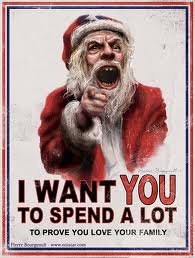 Santa wants your money
