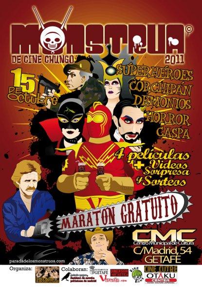 Monstrua 2011 Cartel