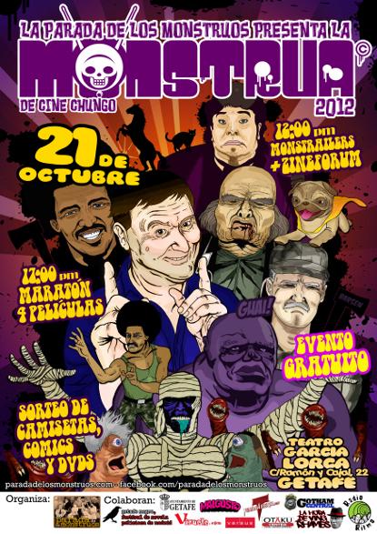 Monstrua 2012 Cartel